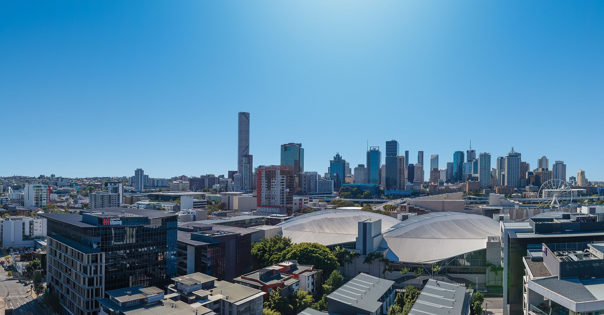 Near Brisbane City CBD